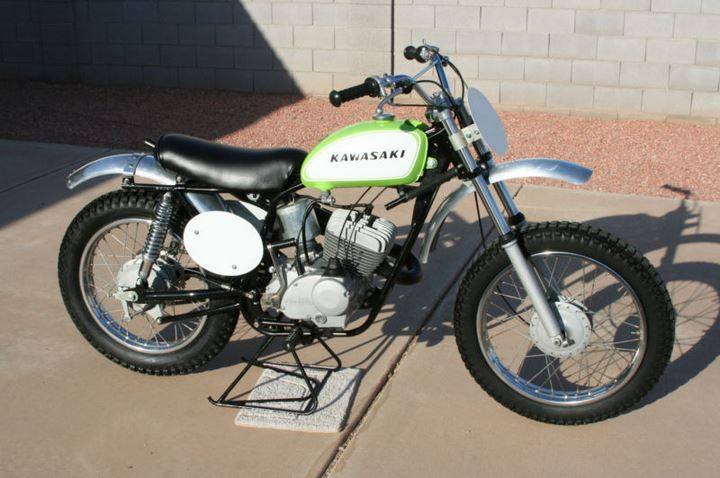 Kawasaki Green Streak F21M - Right Side