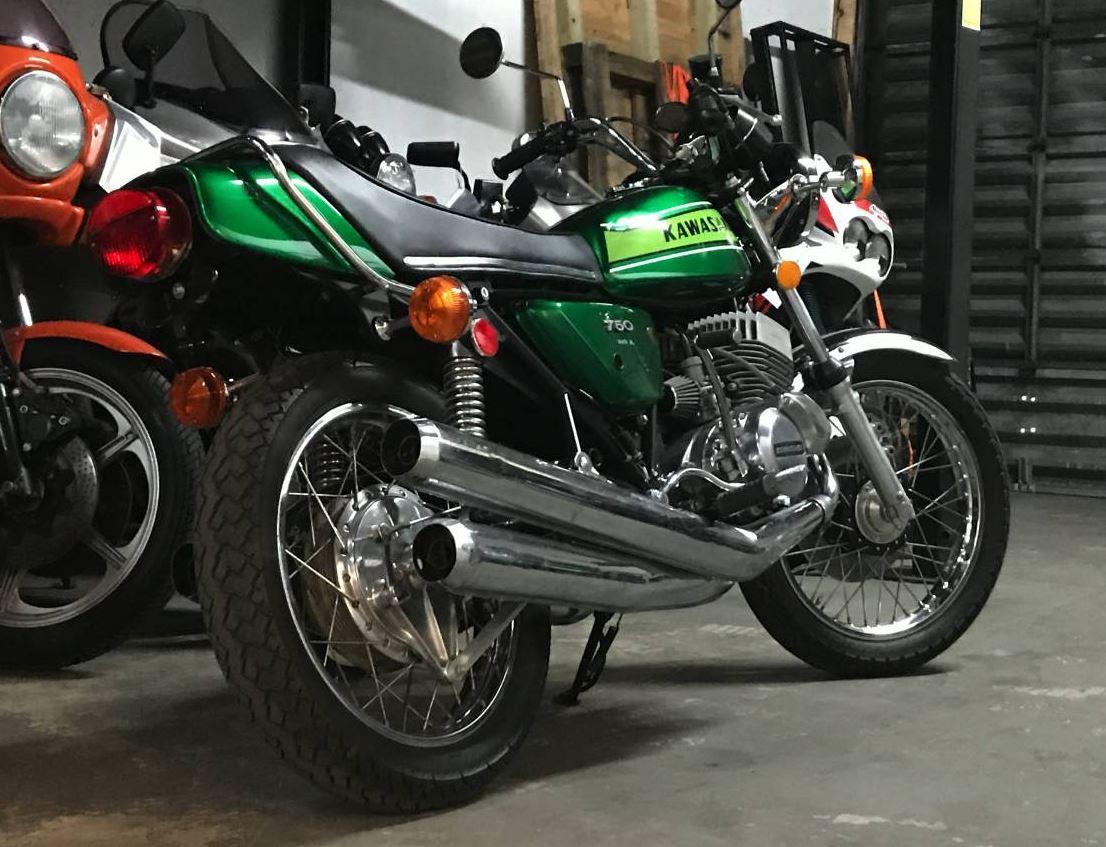 2 Stroke Legend - 1974 Kawasaki H2