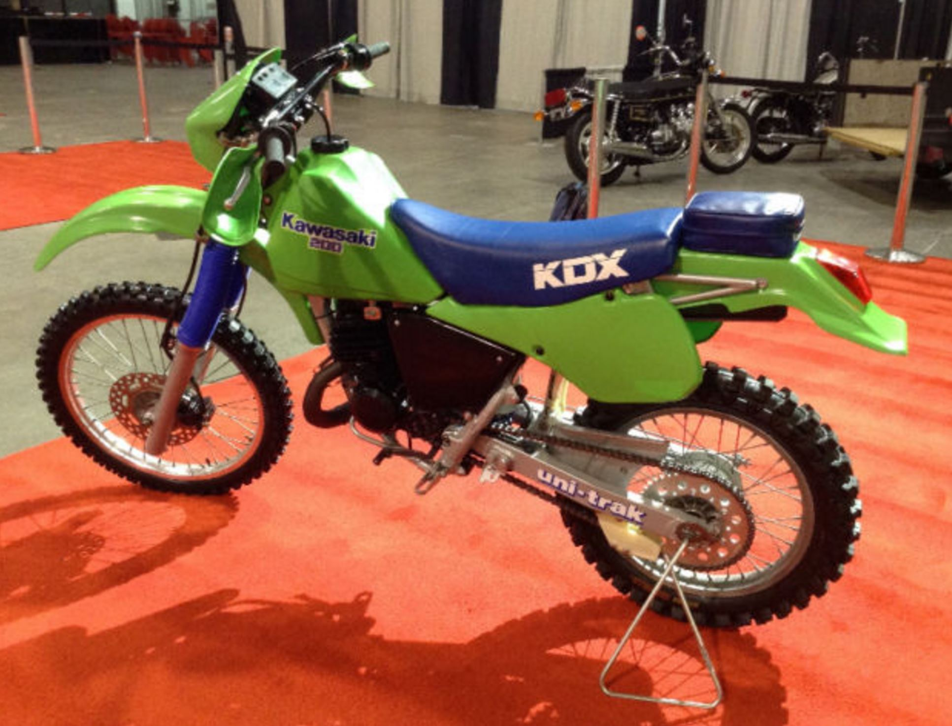 KX KDX200 93. It was well loved by riders, so much so that even Kawasaki  introduced a 250