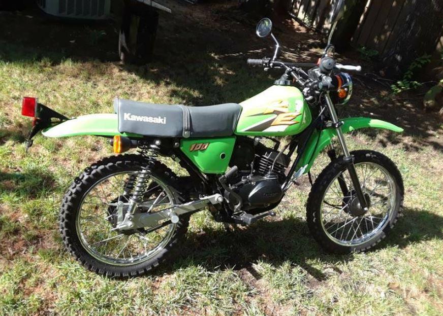 22 Original Miles – 2000 Kawasaki KE100 – Bike-urious