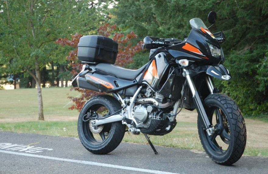 Confused Klr 2005 2008 Kawasaki Klr650 Supermoto Bike