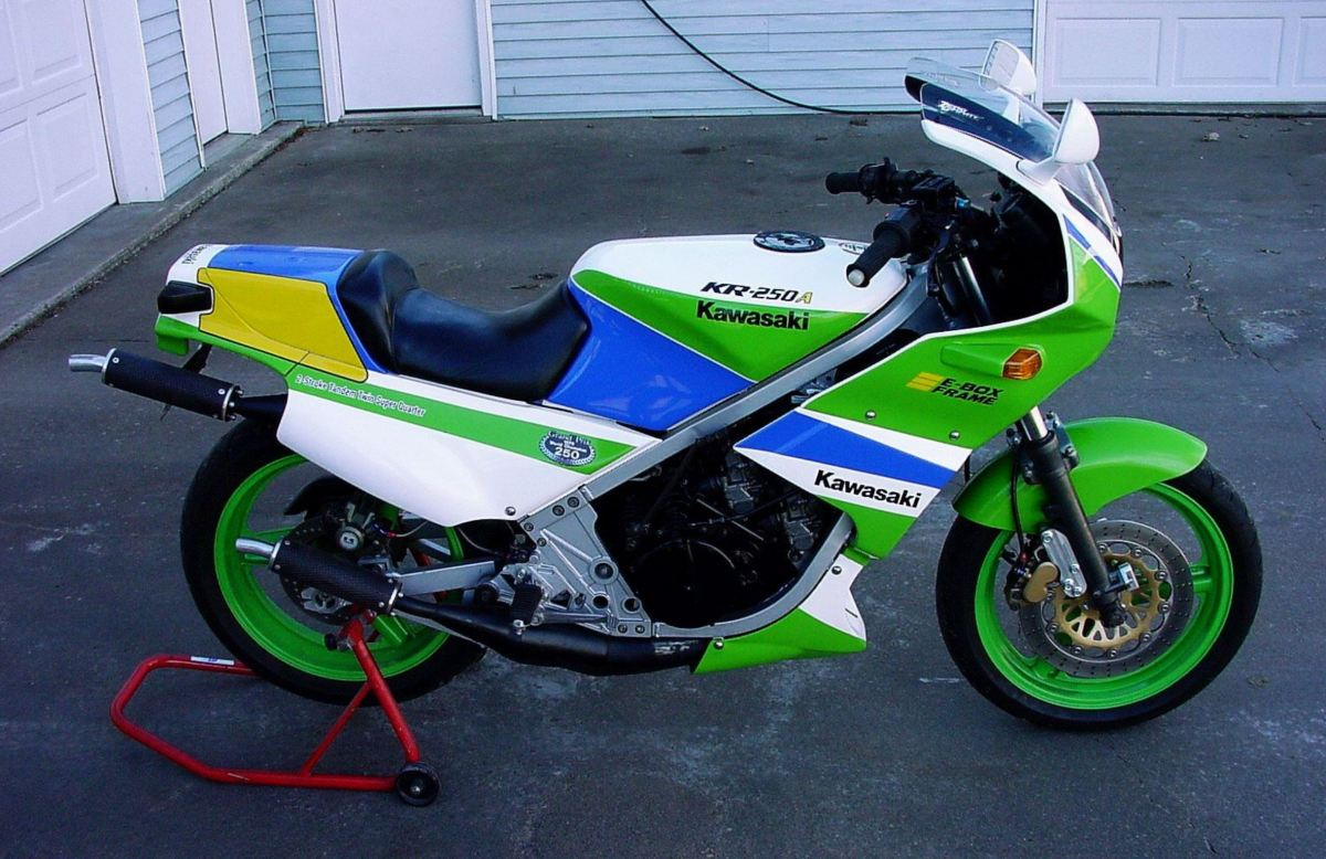 Works Replica - Kawasaki KR250-A