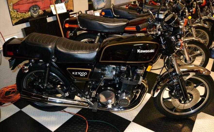 1980 Kawasaki KZ1000 MkII – Bike-urious