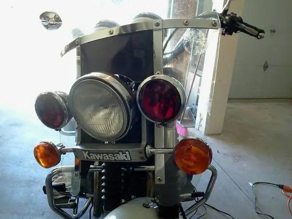 Kawasaki KZ1000 Police - 2