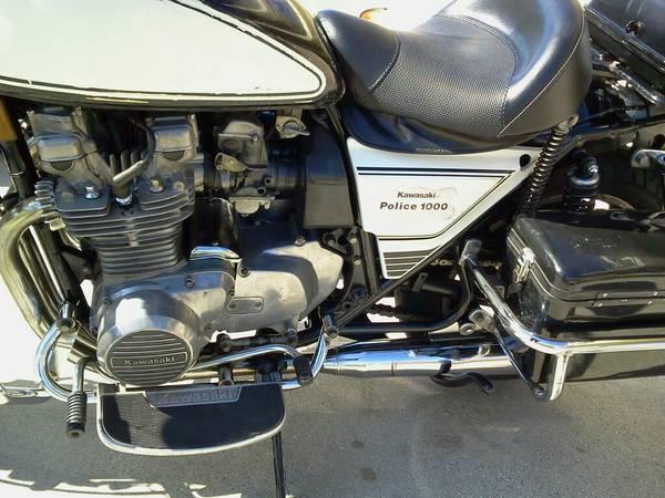 Kawasaki KZ1000 Police – 3 – Bike-urious