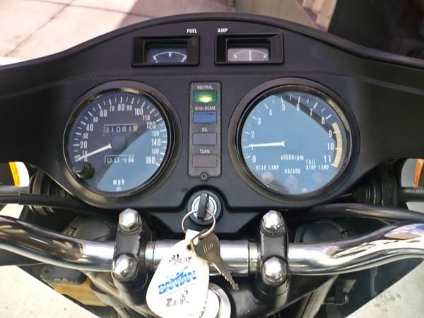 Kawasaki KZ1000 Z1R - Gauges