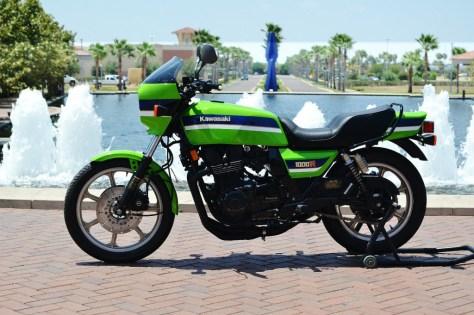Kawasaki KZ1000R ELR - Left Side