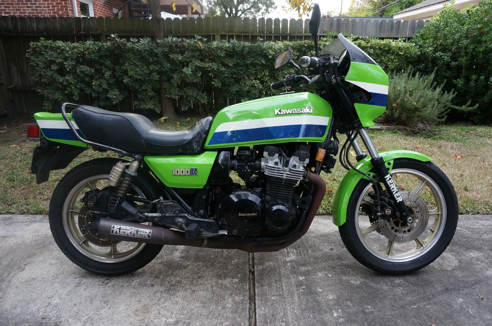 Eddie Lawson Replica 1982 Kawasaki Kz1000r Elr For