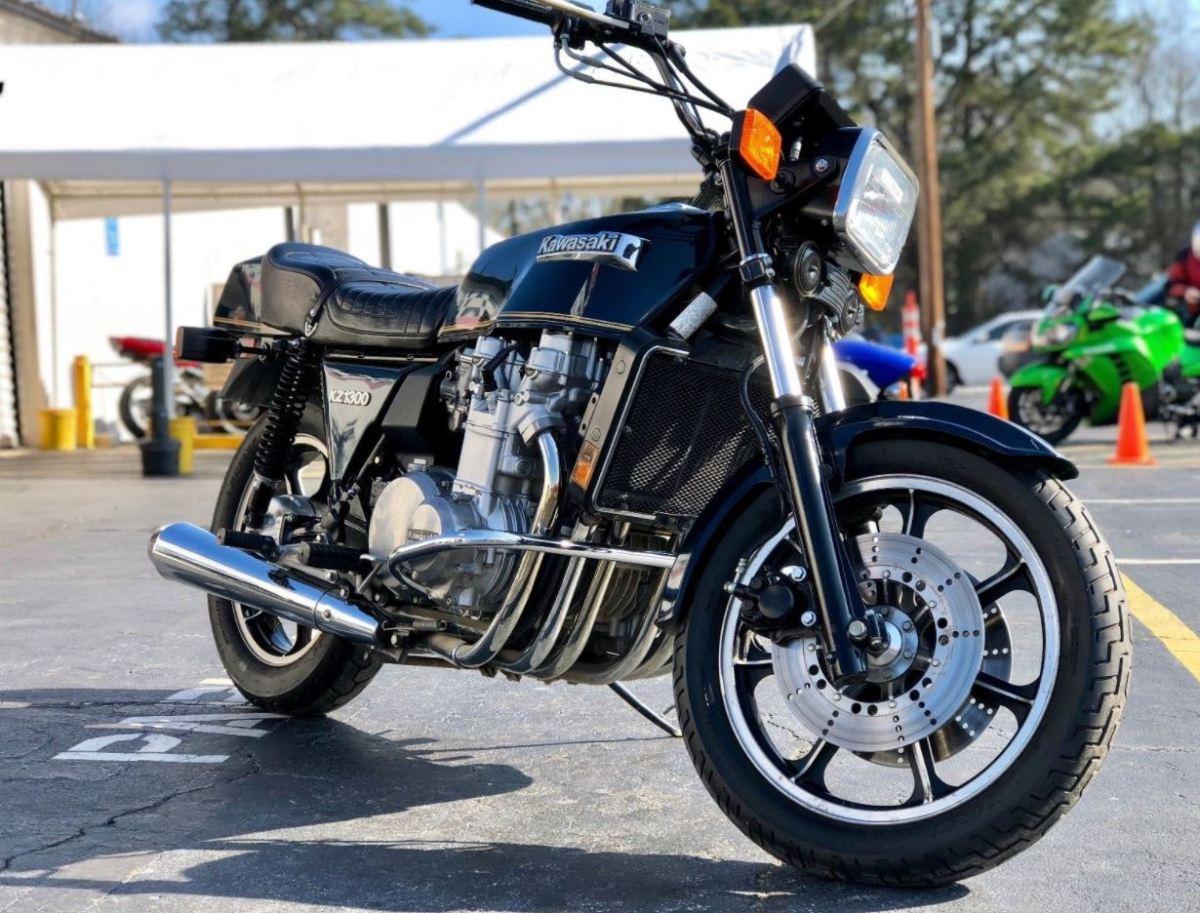 3,590 Miles - 1979 Kawasaki KZ1300