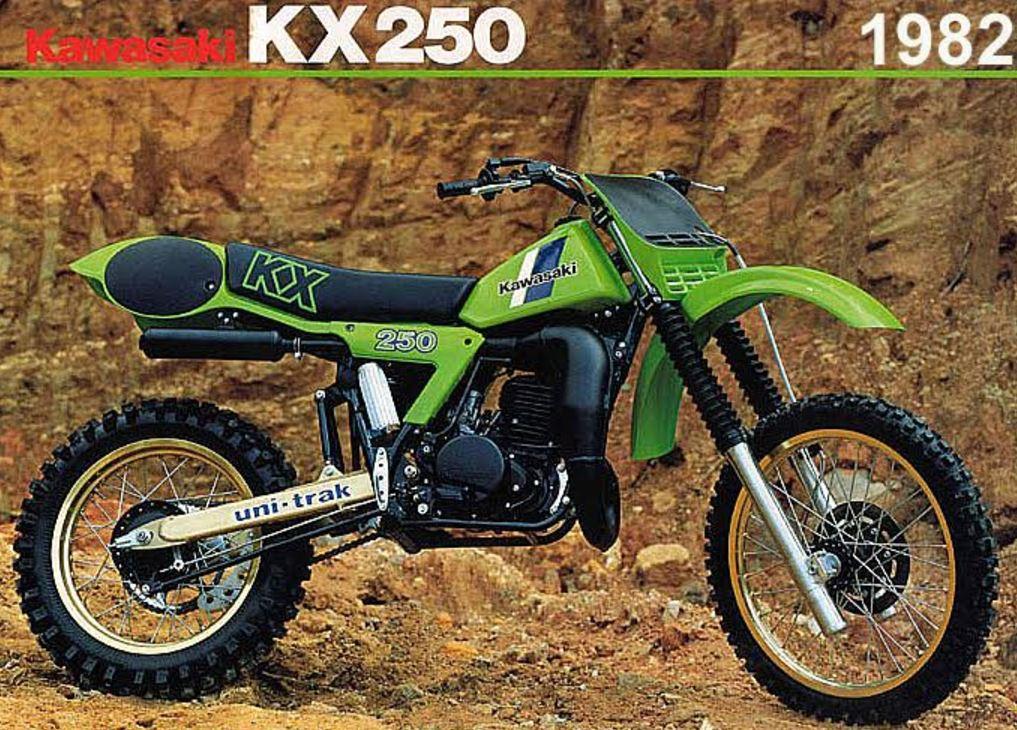 Honda Vs Kawasaki 1982 250cc Mx Racers Bike Urious