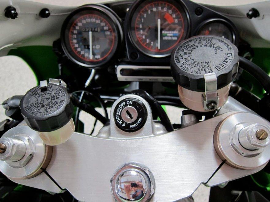 Kawasaki Ninja ZX-7R K1 - Cockpit