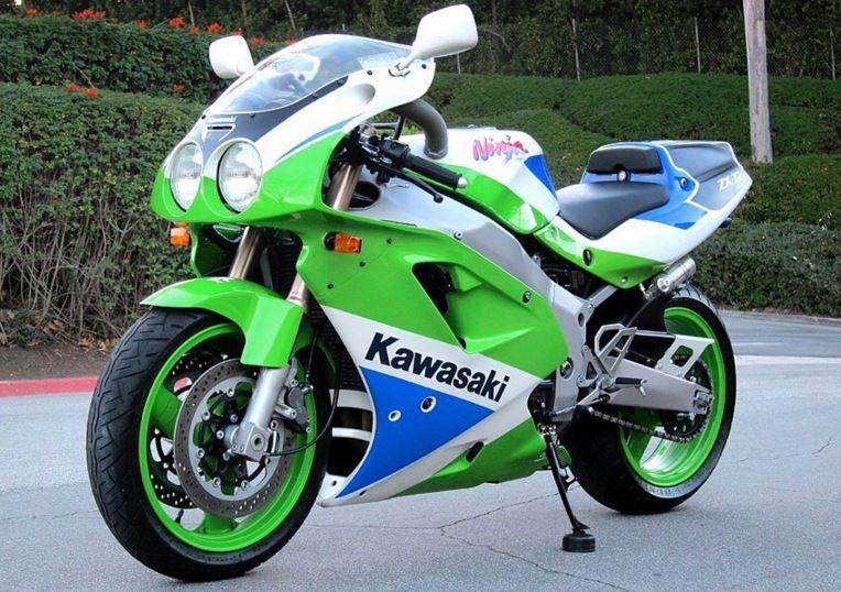 Homologation Special 1992 Kawasaki Ninja Zx 7r K2 Bike