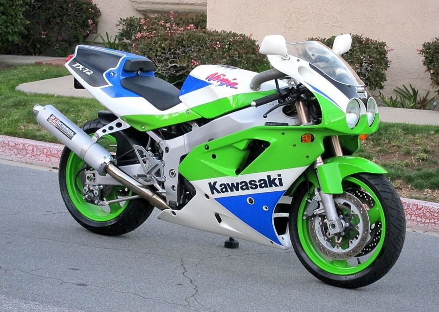 Kawasaki Zx R Bike Where Is Clutch Cover