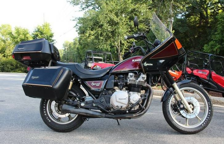 Channel Your Inner Prince – 1982 Kawasaki Spectre 1100 – Bike-urious