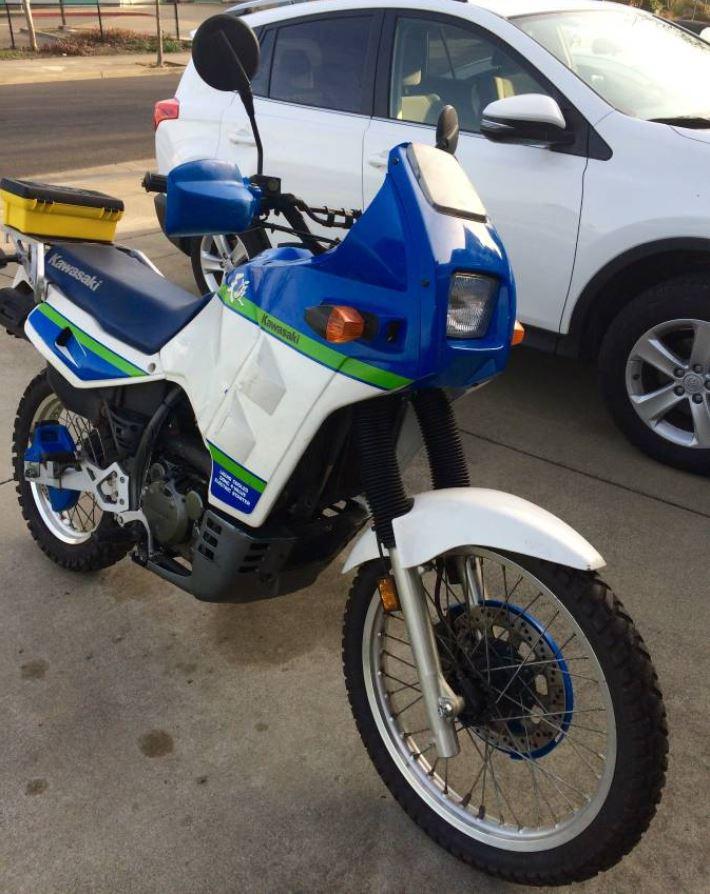 KLR650-B – 1990 Kawasaki Tengai – Bike-urious