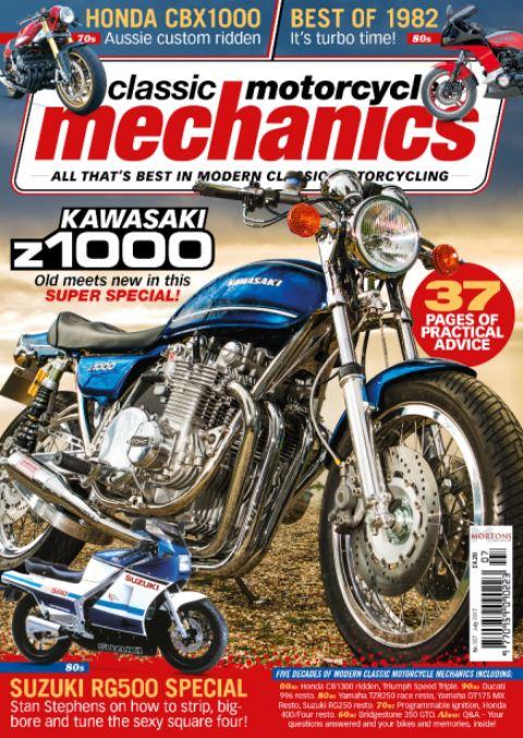 Magazine Cover Feature – 1977 Kawasaki Z1000 A1 Restomod – Bike-urious