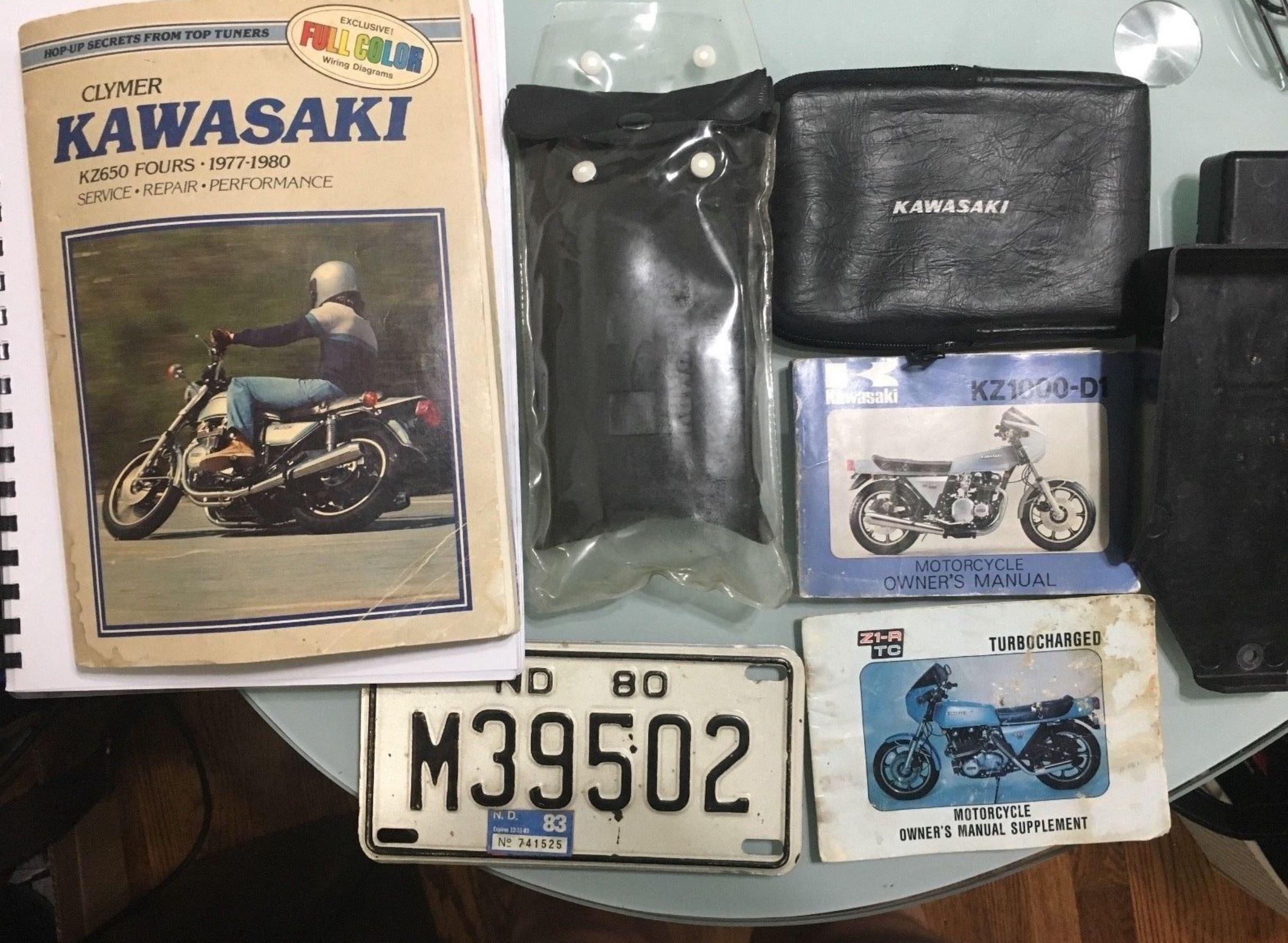 1 of 250 – 1978 Kawasaki Z1R-TC – Bike-urious