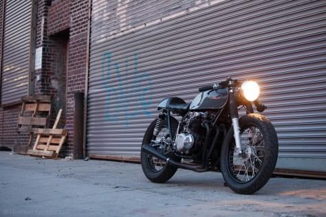 Kott Motorcycles Honda CB550 - Front