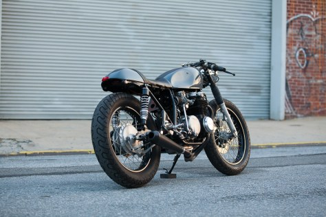 Kott Motorcycles Honda CB550 - Rear Right