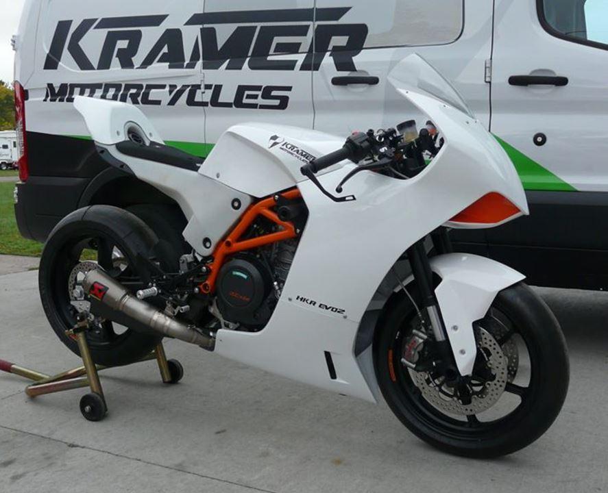 Purpose Built Supermono Racer - 2017 Kramer Motorcycles HKR Evo2