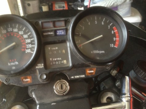 Laverda Jota 120 - Gauges