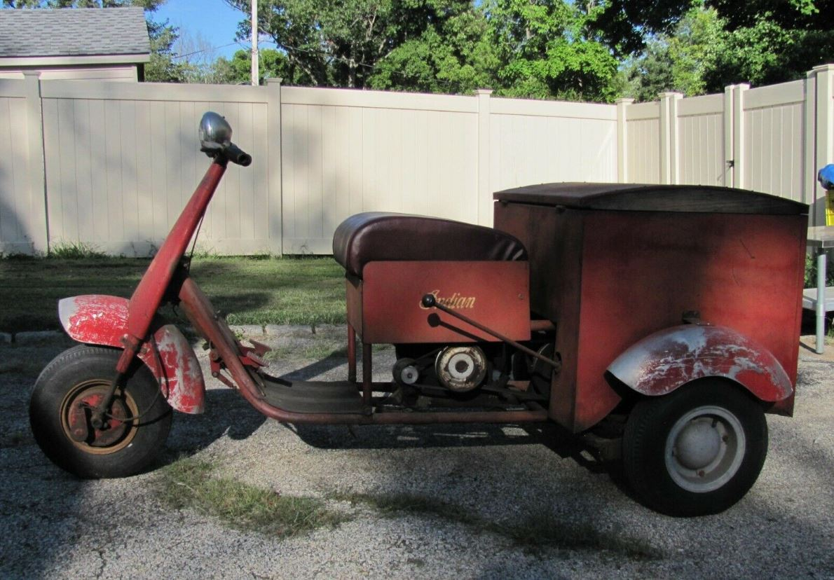 Ending Soon – 1949 Lowther/Indian Trike – Bike-urious