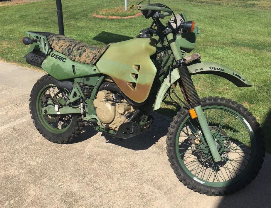 M1030m1 2009 Kawasaki Klr650 Bike Urious