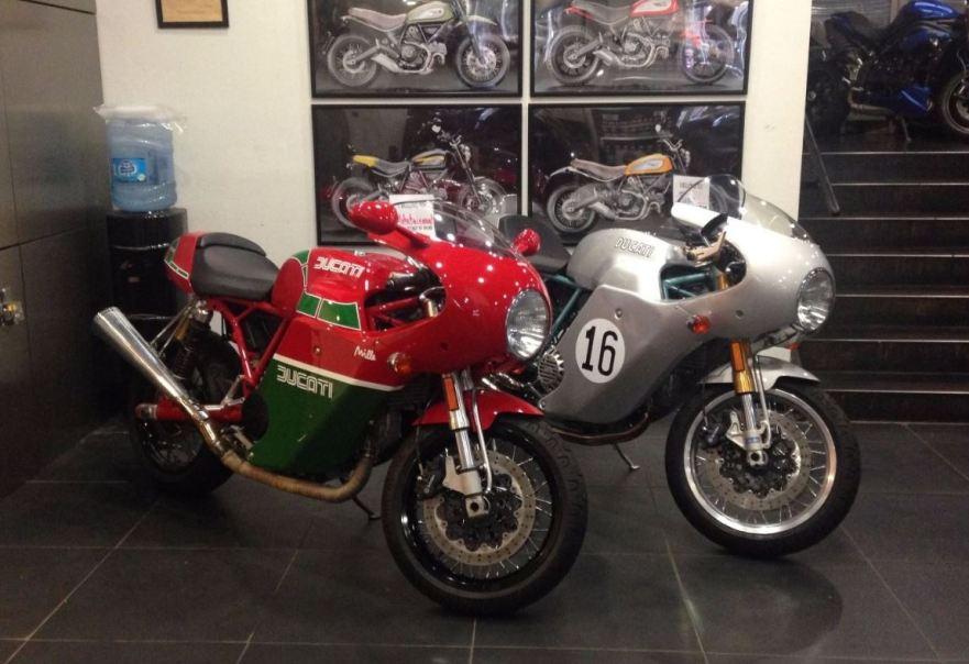 MHR Livery - 2007 Ducati SportClassic Sport 1000 S - Front Right