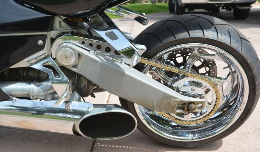 MTT Y2K Turbine Jet Bike - Exhaust