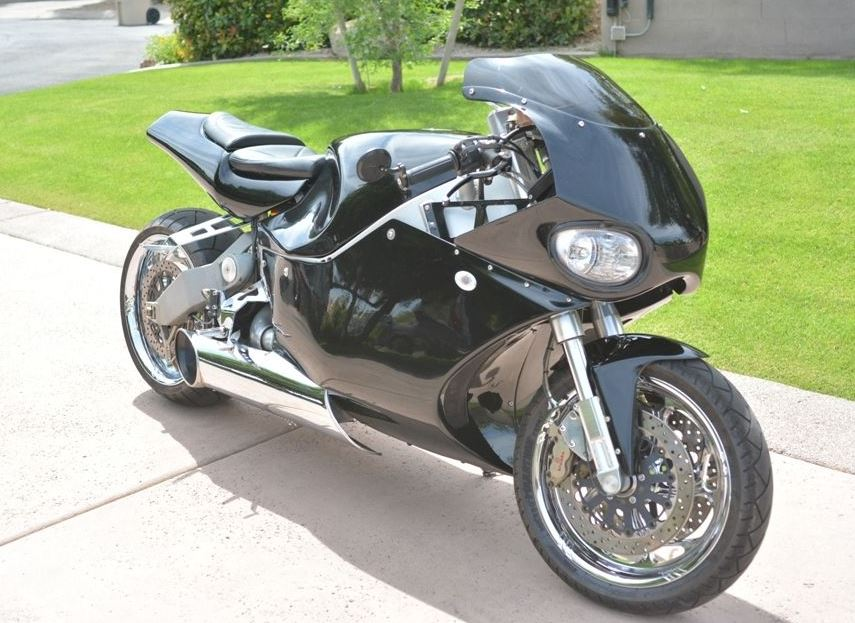 MTT Y2K Turbine Jet Bike - Front Right