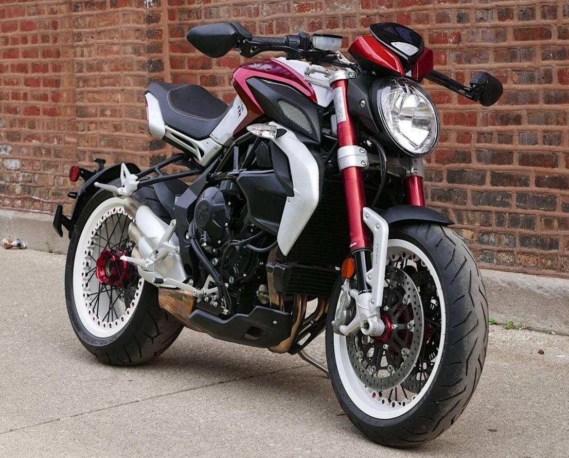Never Registered 2015 Mv Agusta Dragster 800 Rr Bike Urious