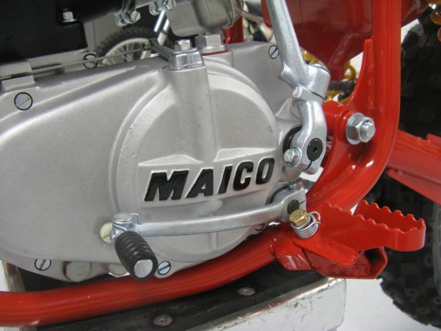 Maico 490 Mega 2 - Engine