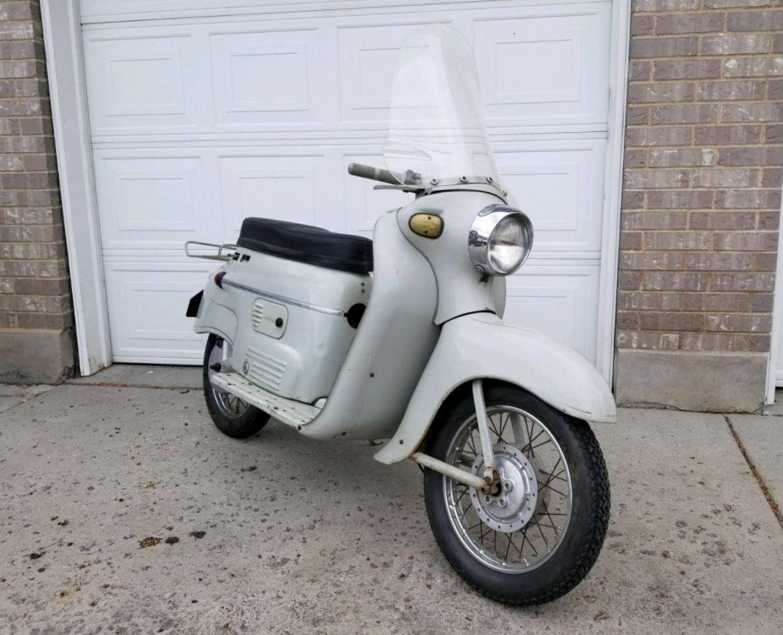 Rare Scooter With No Reserve 1959 Manet S 100 Bike Urious