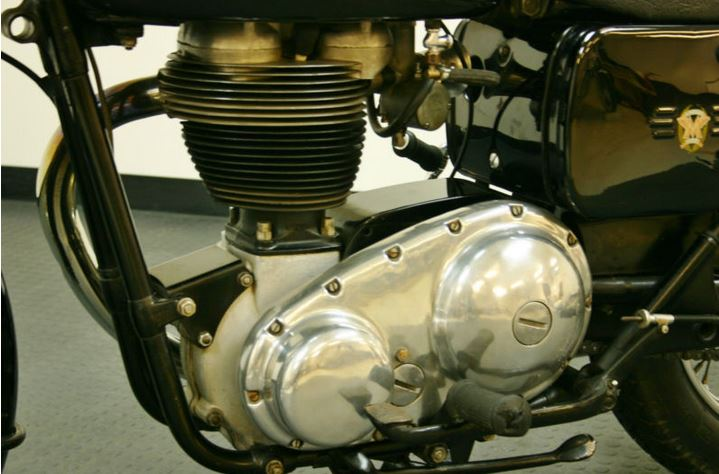 Matchless G80 - Engine
