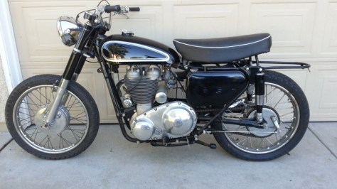 Matchless G80TCS Typhoon - Left Side