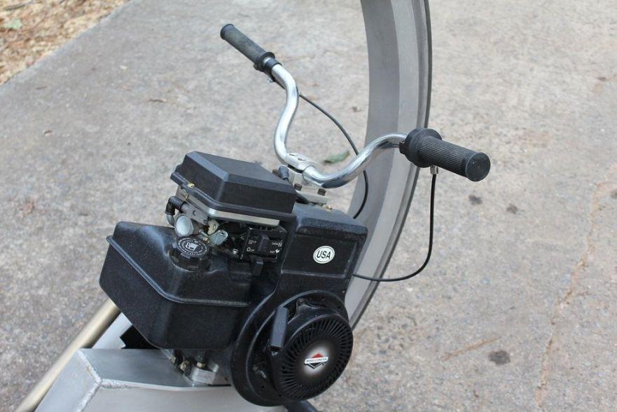 McLean Monocycle - Engine
