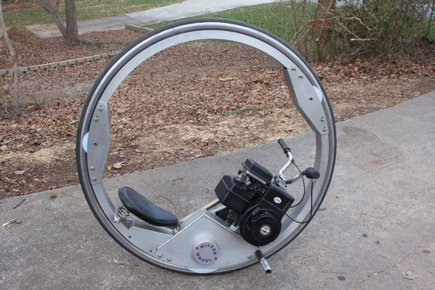 McLean Monocycle - Right Side