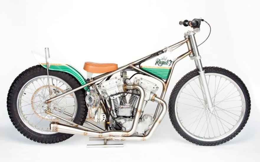Fascinating Motor Meirson Harley Powered Speedway Build