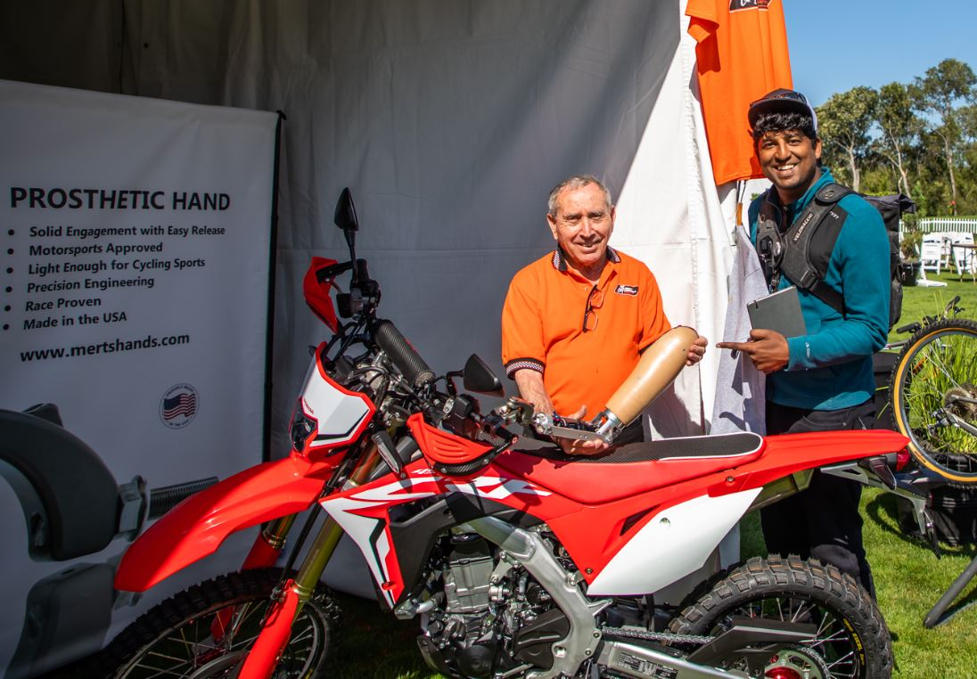 Quail Motorcycle Gathering 2019 - Mert's Hands