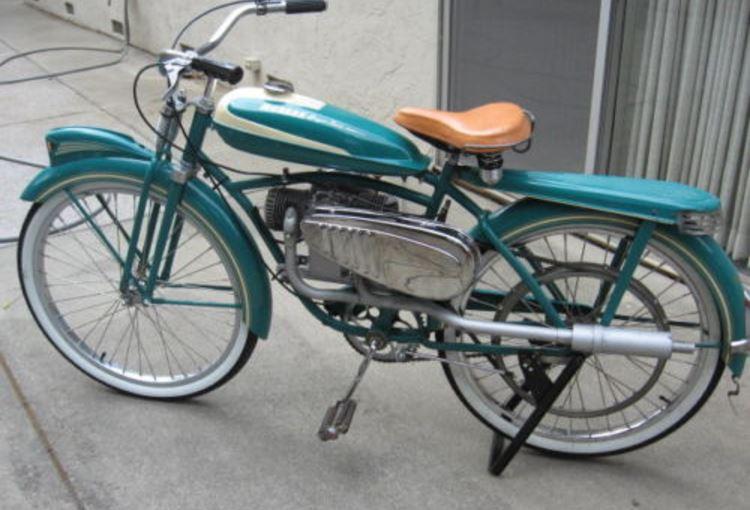 1952 Monark Super Twin Tribute