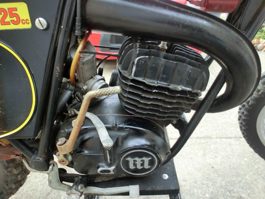 Montesa Cappra 125 VA - Engine