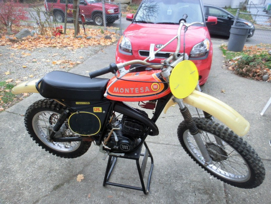 Montesa Cappra 125 VA - Right Side