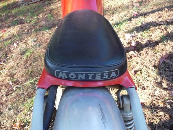 Montesa Cota 123 - Seat
