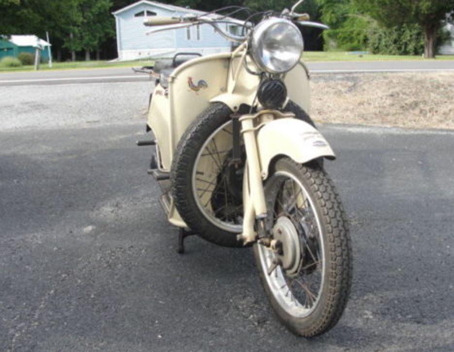 1959 Moto Guzzi Galletto