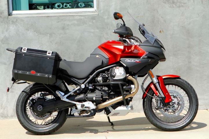 T-SHIRT MOTO GUZZI STELVIO NTX 1200 MOTORCYCLES BIKER ITALIA