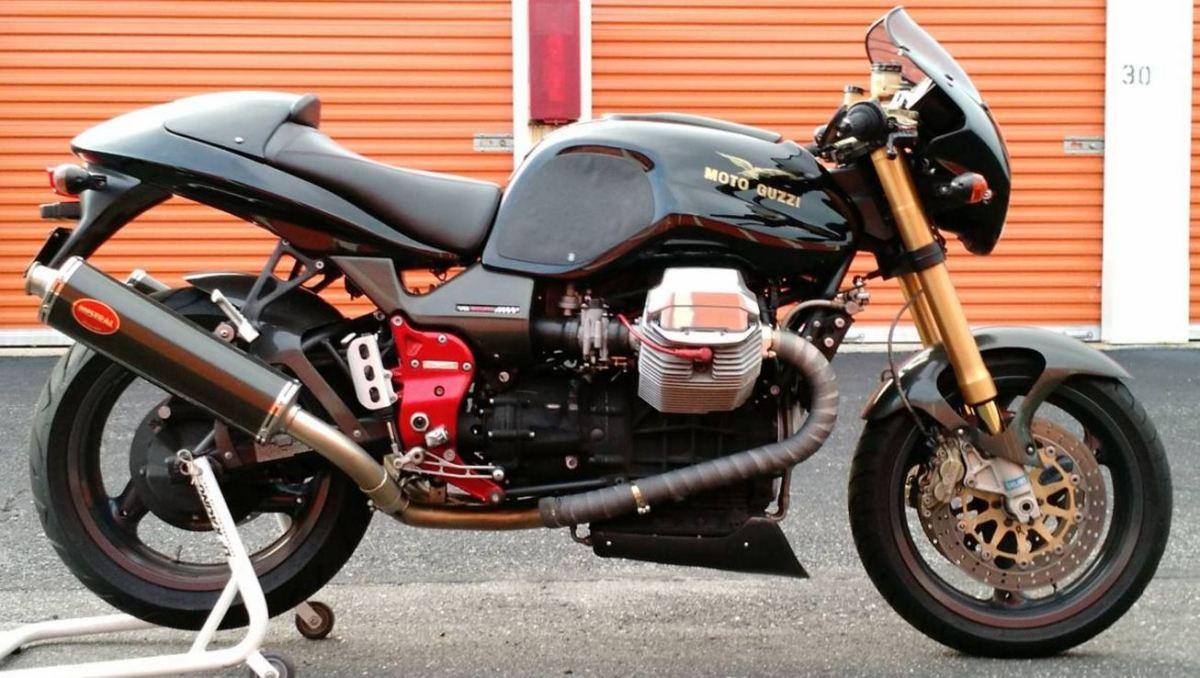 moto guzzi  scura bike urious