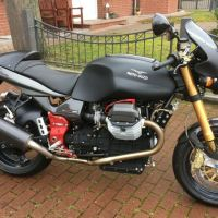 4 Miles in Germany - 2002 Moto Guzzi V11 Scura