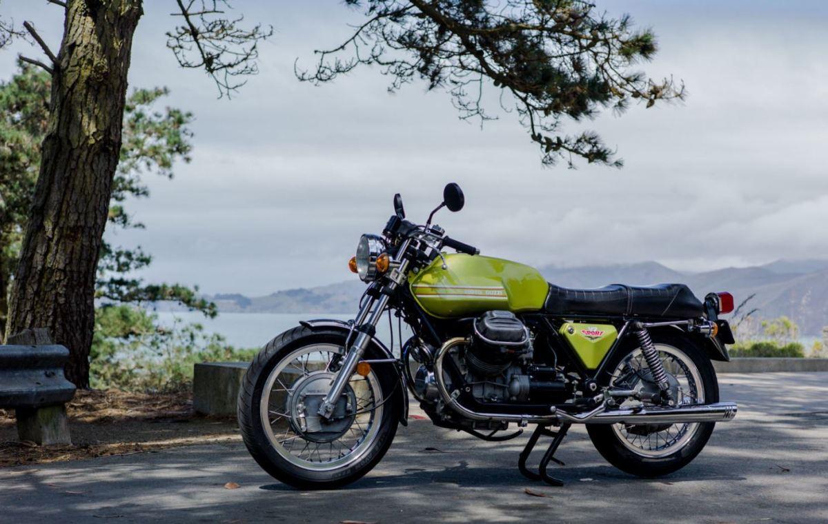 1973 Moto Guzzi V7 Sport Bike Urious