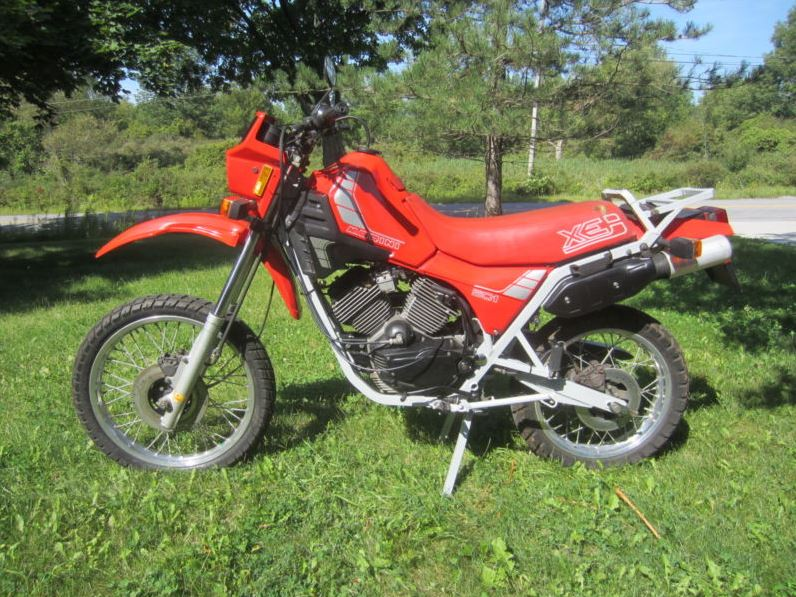 Moto Morini Camel - Left Side