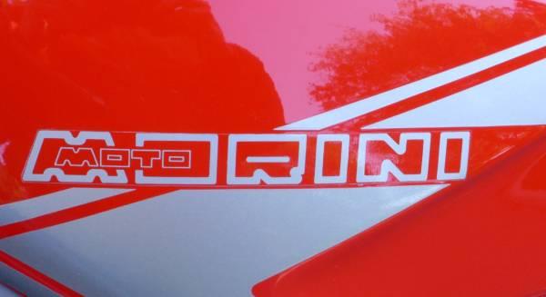Moto Morini European Tour - Tank